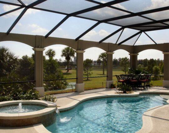 Palm Beach Pool Screen Enclosure Installation and Repairs - Pool Screen Enclosures, Patio Screens, Sunrooms, Solariums, Lanai Conversions, Repair Screen Enclosures, Aluminum Roofs -35