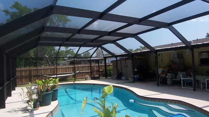 Palm Beach Pool Screen Enclosure Installation and Repairs - Pool Screen Enclosures, Patio Screens, Sunrooms, Solariums, Lanai Conversions, Repair Screen Enclosures, Aluminum Roofs -36