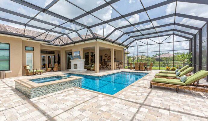 Palm Beach Pool Screen Enclosure Installation and Repairs - Pool Screen Enclosures, Patio Screens, Sunrooms, Solariums, Lanai Conversions, Repair Screen Enclosures, Aluminum Roofs -50